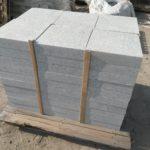 Žulová dlažba šedá 40 x 40 x 8 cm