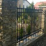 Obklad plotu z ruly