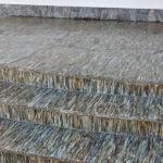 Exteriérové schody z ruly impregnované proti nasáknutí vody