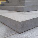 Schody s povrchovou úpravou pískování